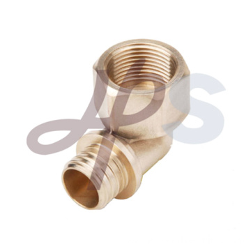 Brass pex female elbow fitting H870